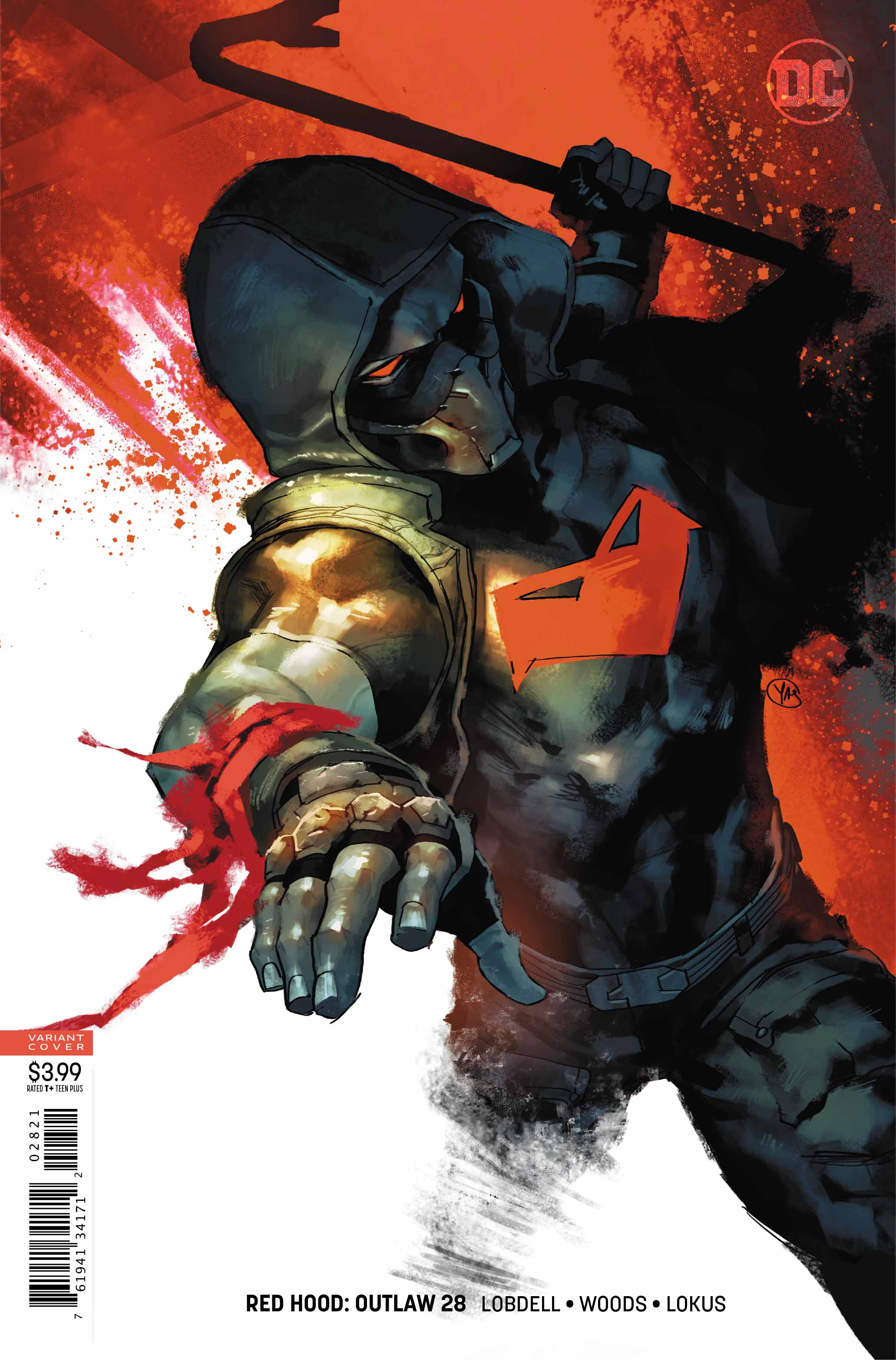 Red Hood: Outlaw #28 review: Action. Just lots of action. Why? Who knows.