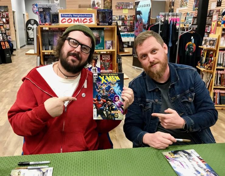 Ed Brisson and Matthew Rosenberg talk touring and tease Uncanny X-Men #2