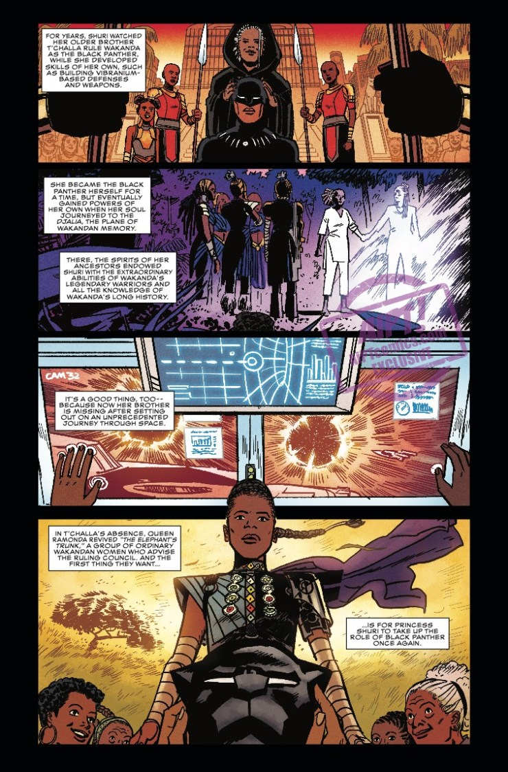 [EXCLUSIVE] Marvel Preview: Shuri #2
