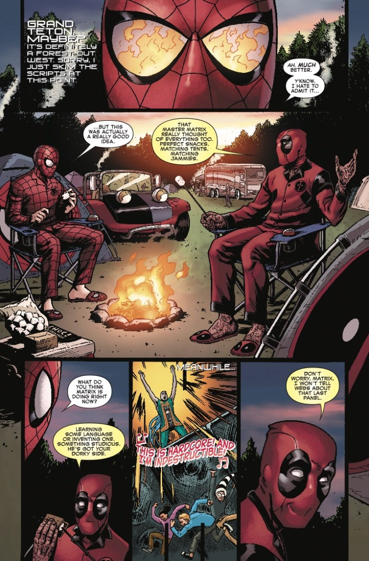 Marvel Preview: Spider-Man/Deadpool #41
