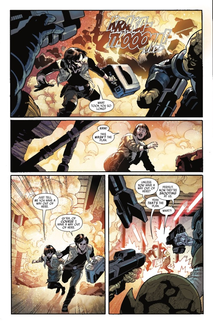Marvel Preview: Star Wars: Han Solo - Imperial Cadet #1