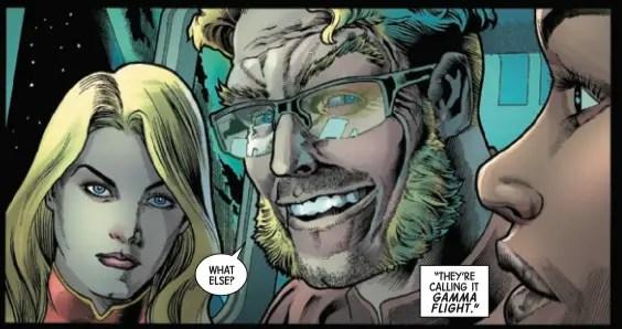 Marvel introduces a new superhero team via Captain Marvel and Alpha Flight