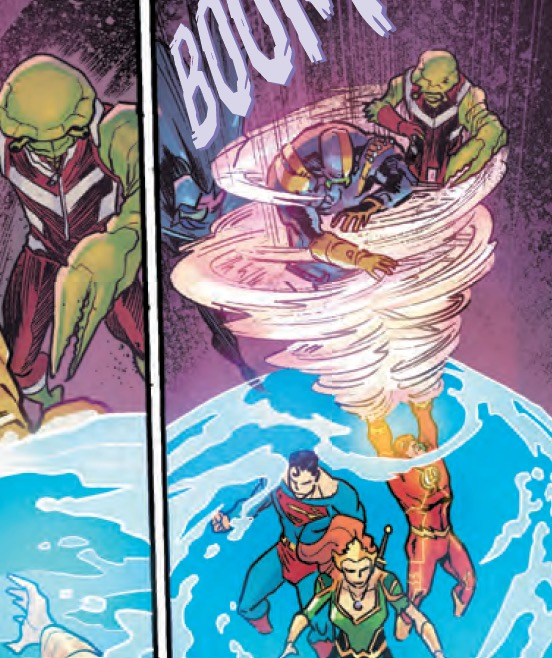 Aquaman/Justice League: Drowned Earth Special Review