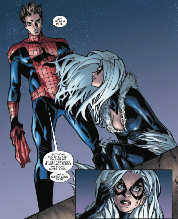 Spider-Man gets real and intimate with Black Cat in Amazing Spider-Man #10