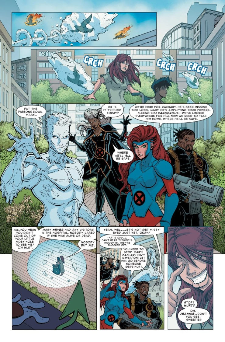 Marvel Preview: Typhoid Fever: X-Men #1