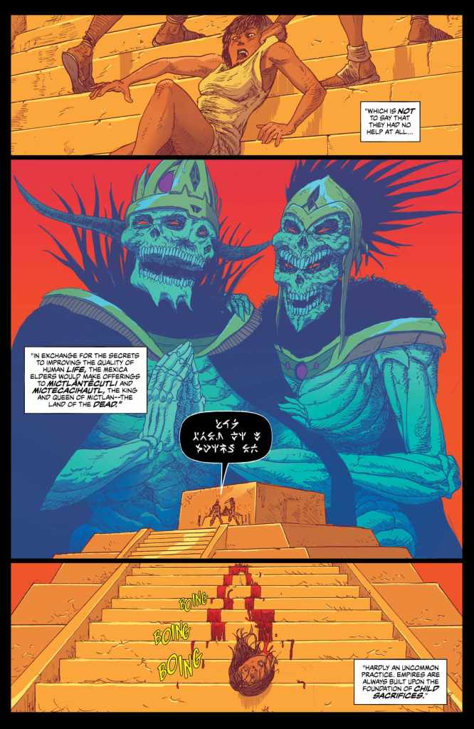 Border Town #3 review: Tackling race relations with El Cheeto-Cabra
