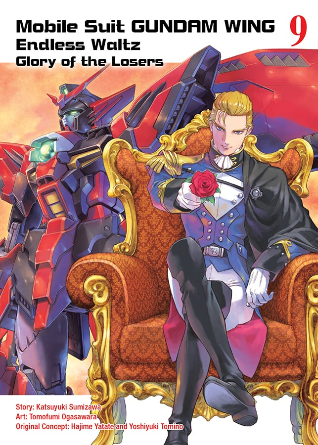 Mobile Suit GUNDAM WING Endless Waltz: Glory of the Losers Vol. 9 Review