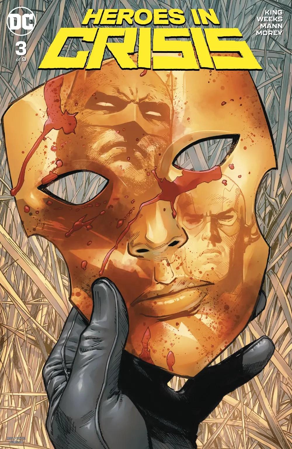 Heroes In Crisis #3 review: Laser-focused
