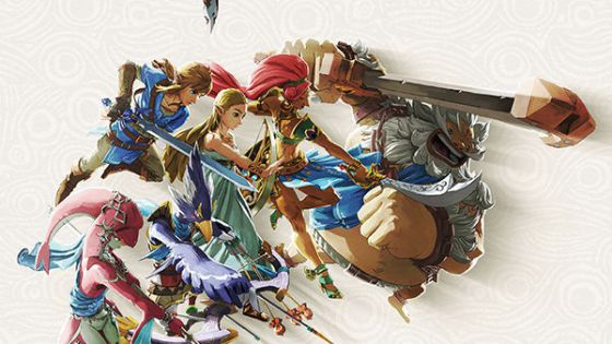 Open your eyes...wake up, Link...there's a new Zelda art book...