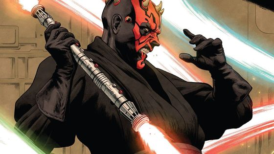 Darth Maul struggles to contain his desire for destruction and questions the wishes of his methodically plotting master.
