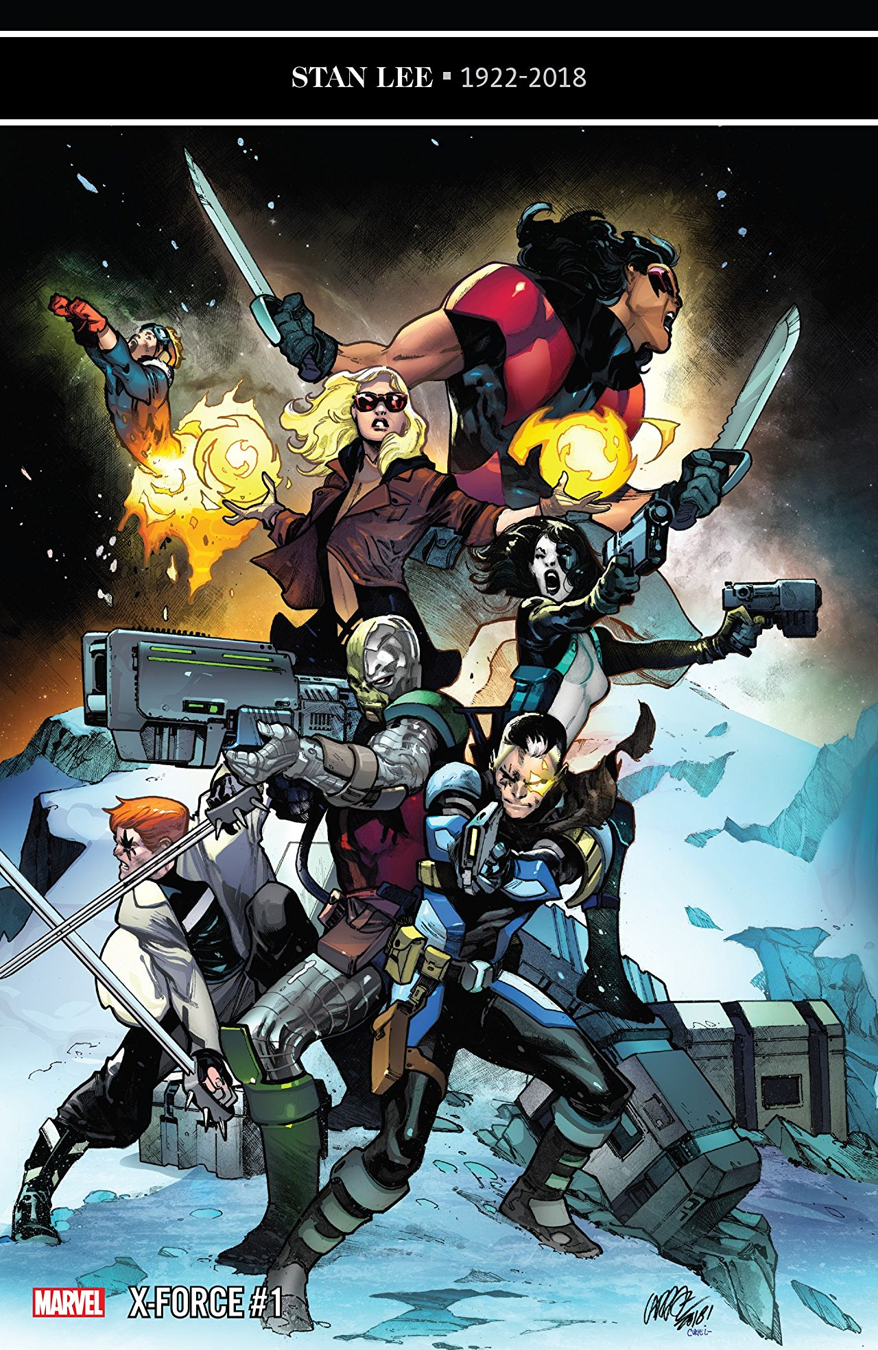X-Force #1 review: Just Kid Cable-ing around