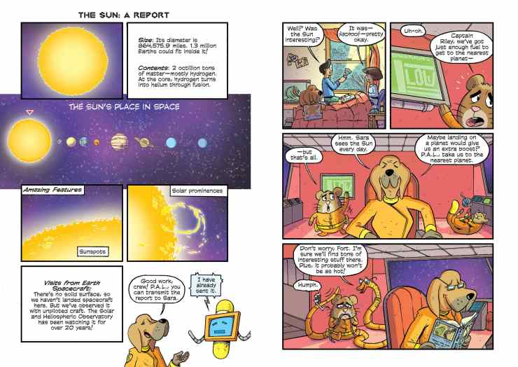 Is 'Science Comics: Solar System: Our Place in Space' a stellar read for kids?