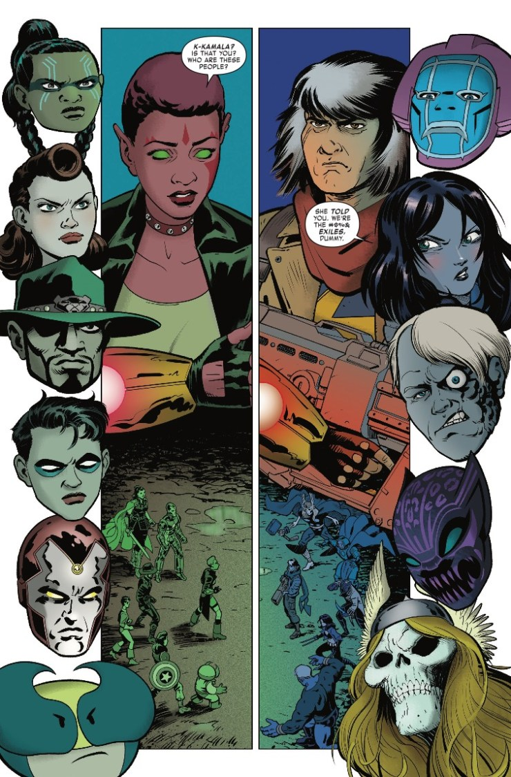 Marvel Preview: Exiles #11