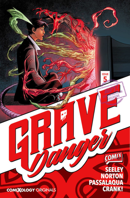[EXCLUSIVE] Comixology Preview: Grave Danger #5