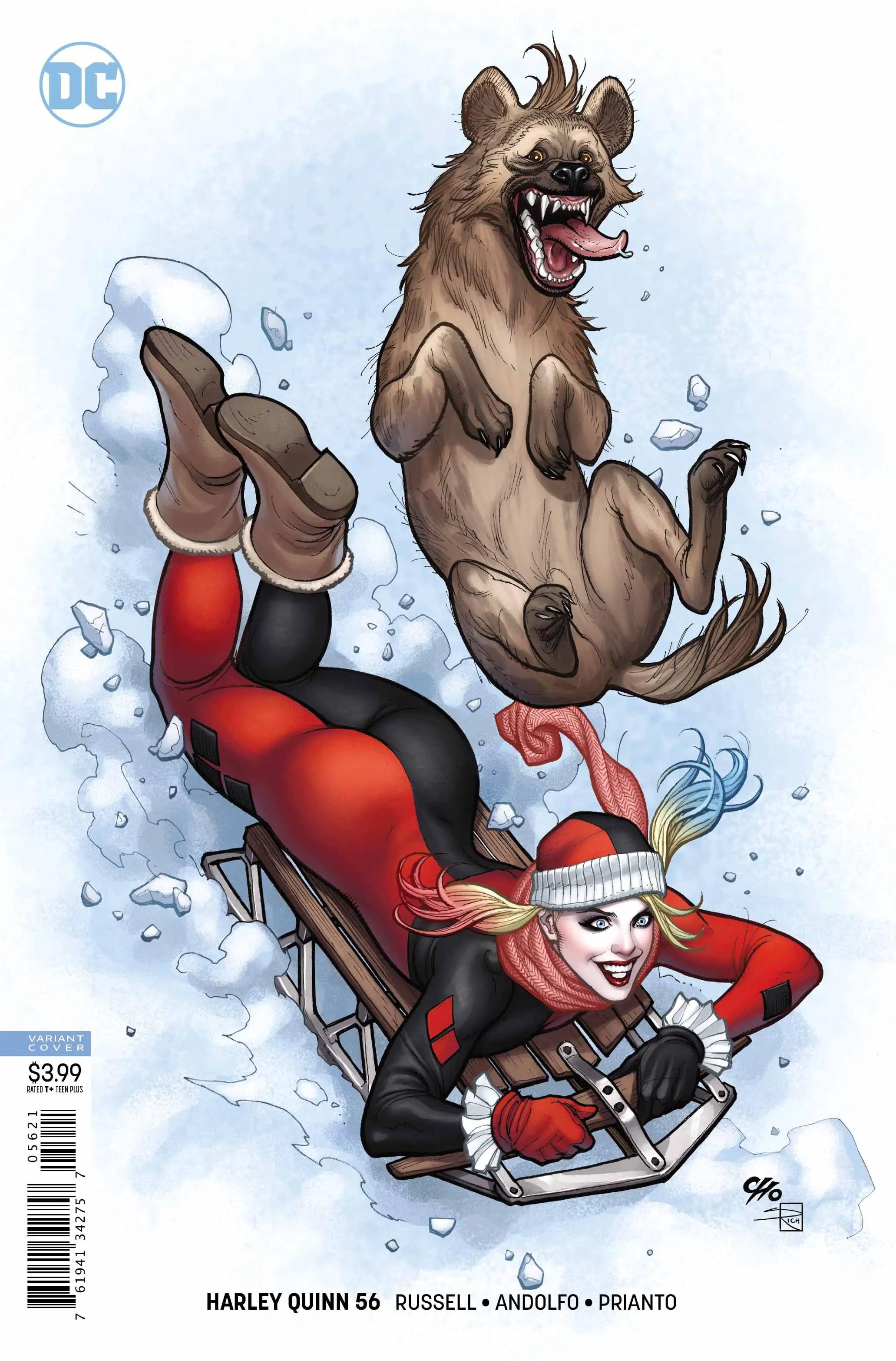 Harley Quinn #56 Review