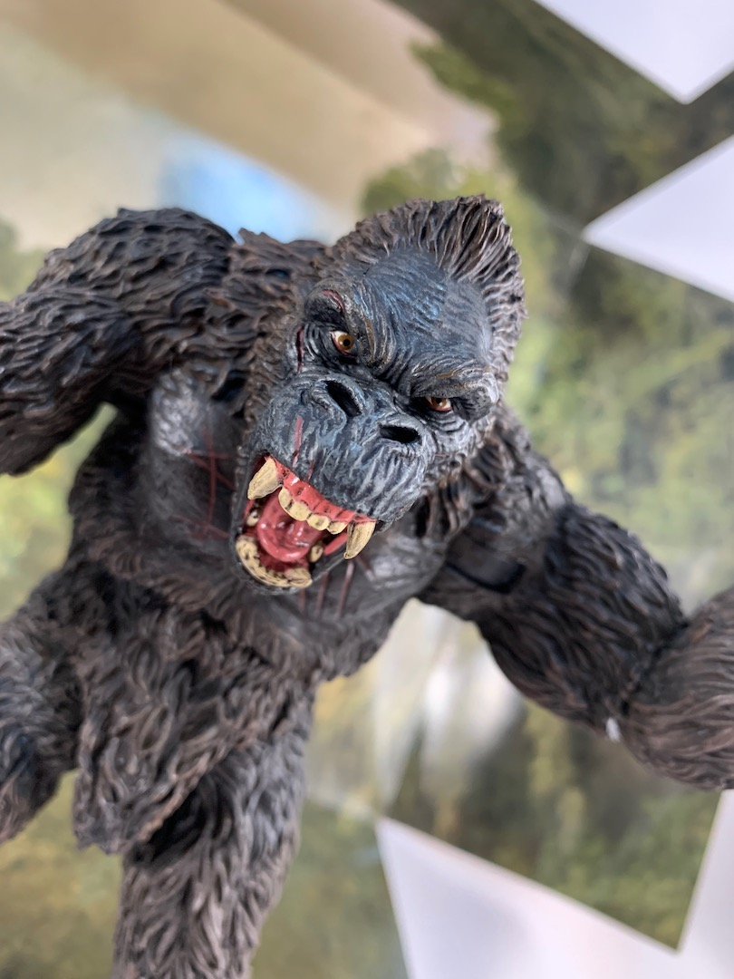 Unboxing the King Kong of Skull Island 7-inch action figure