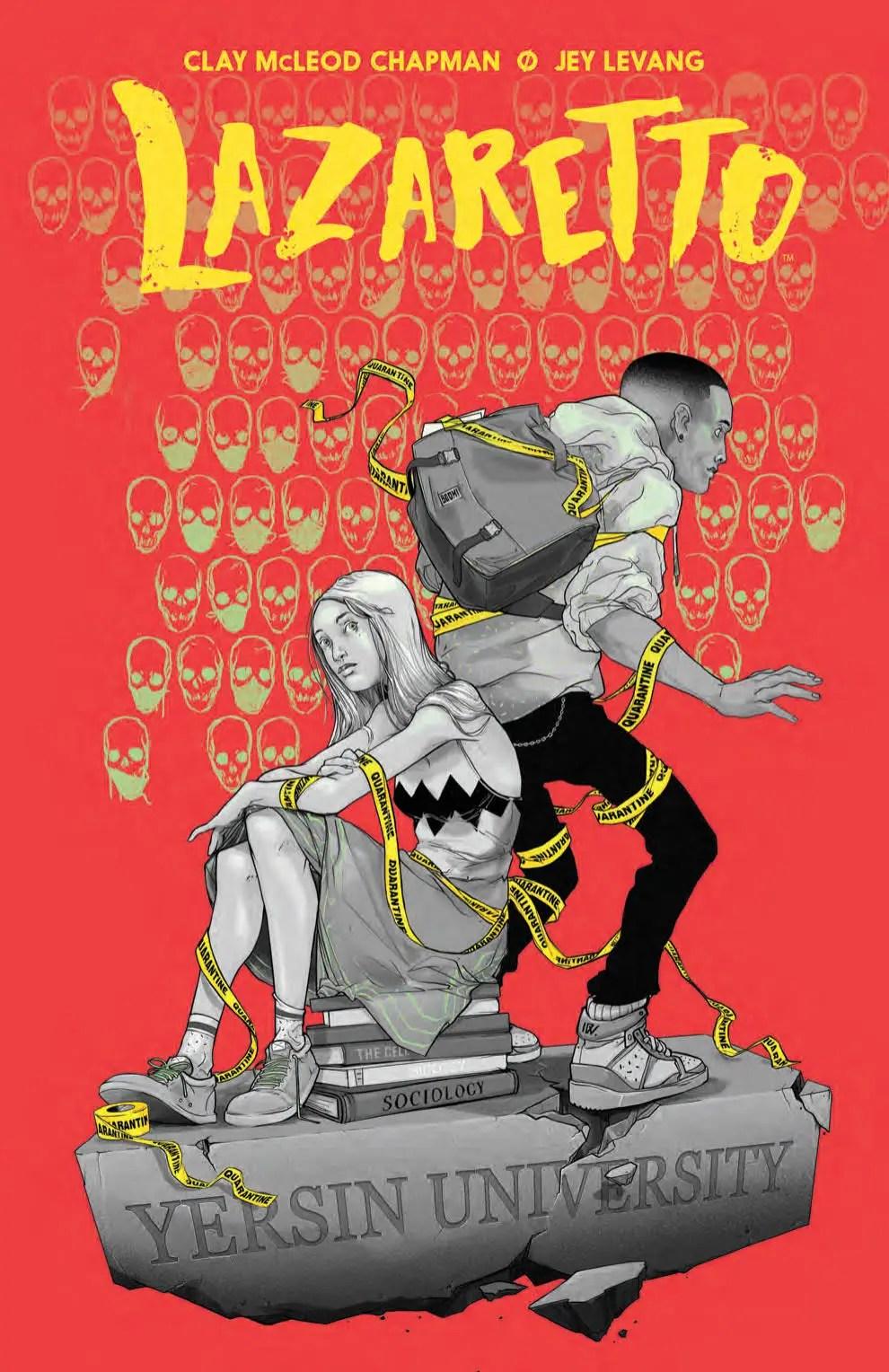 'Lazaretto' review: The most disturbing comic you'll ever read