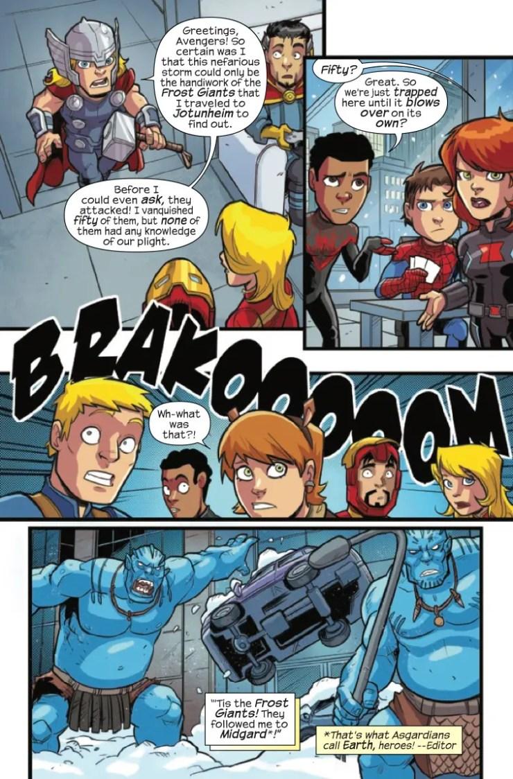 Marvel Preview: Marvel Super Hero Adventures: Captain Marvel Vs. The Frost Giants #1