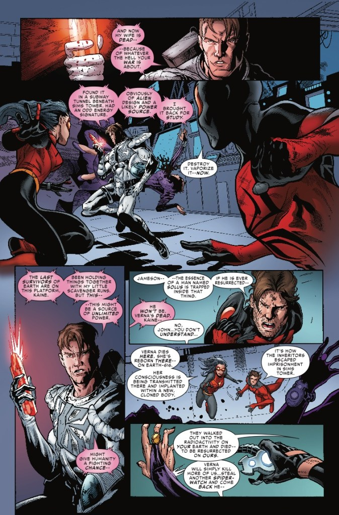 Spider-Force #3: Something serious, something nonsensical