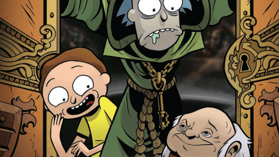 Rick and Morty go full fantasy in this great penultimate issue.