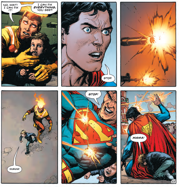 What Ozymandias does in 'Doomsday Clock' #8 changes everything
