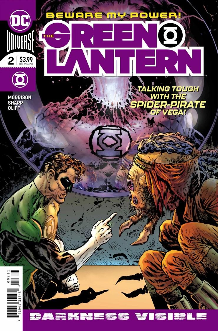 Liam Sharp on forging The Green Lantern alongside Grant Morrison, Steve Oliff and Tom Orzechowski.