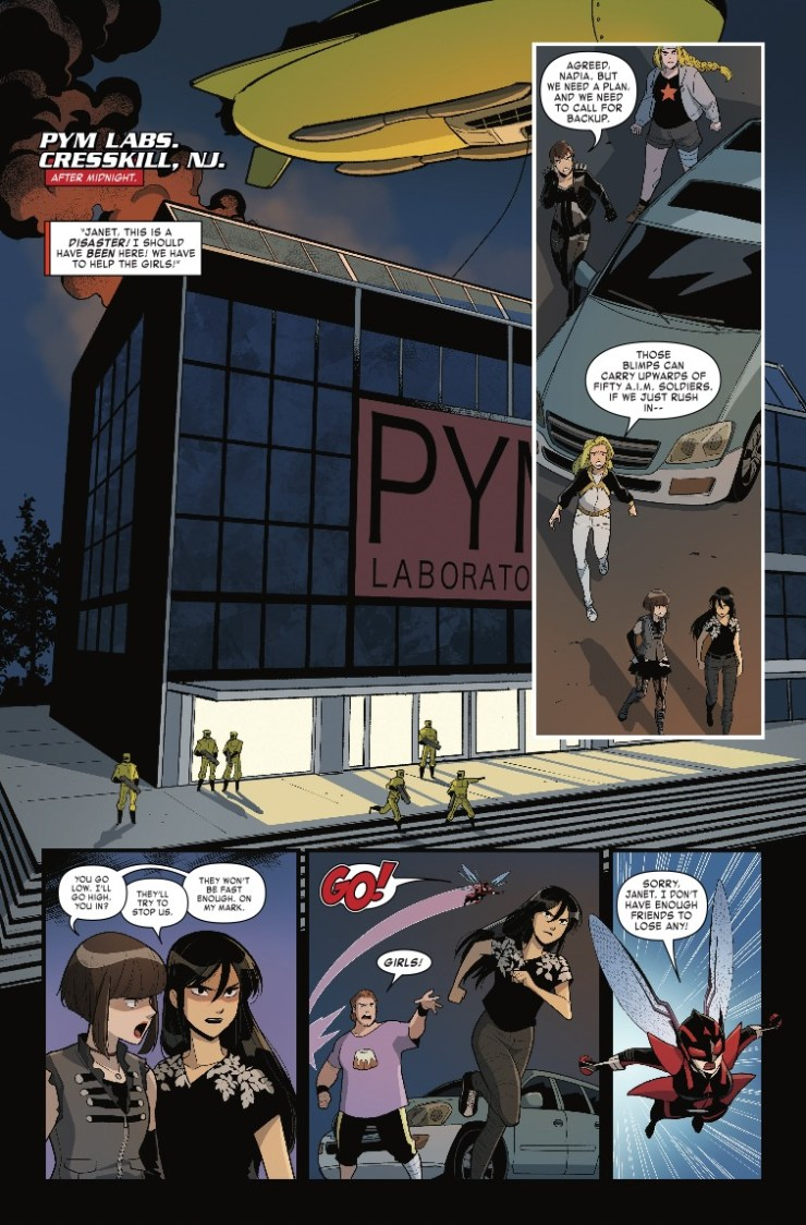 Marvel Preview: The Unstoppable Wasp #3