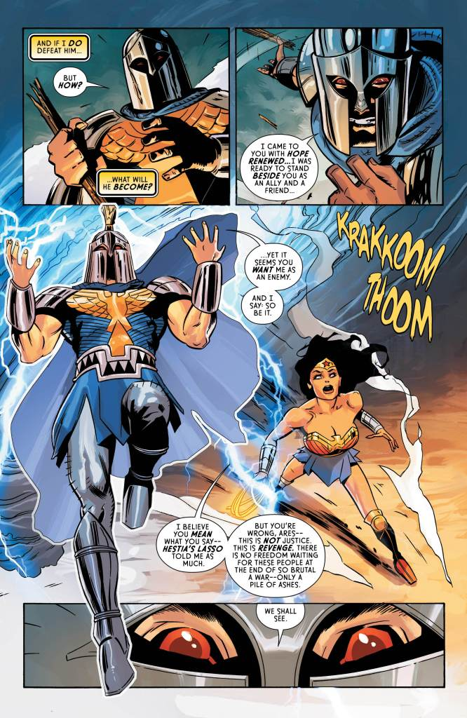 Wonder Woman #60 review: Love and war