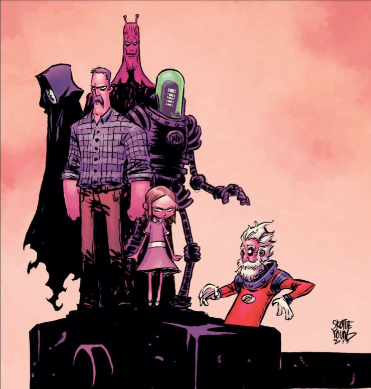 Going outside your comfort zone: Why you need to check out 'Black Hammer Vol. 3: Age of Doom Part One'