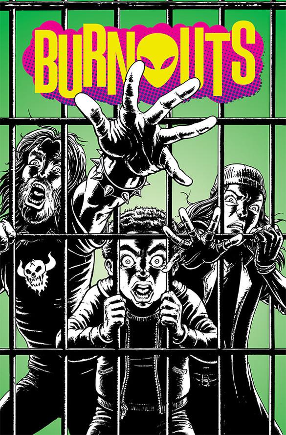 Burnouts #4 review: Finding a groove