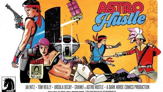 """It's like Treasure Planet meets Club Paradise"": Jai Nitz and Tom Reilly talk Astro Hustle"