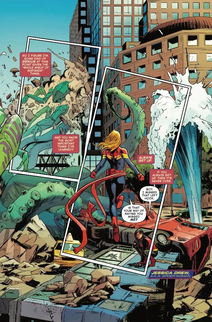 Marvel Preview: Captain Marvel #1