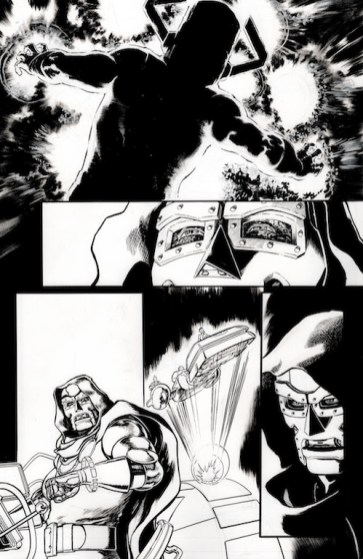 Fantastic Four (2018) #6_Inked Page