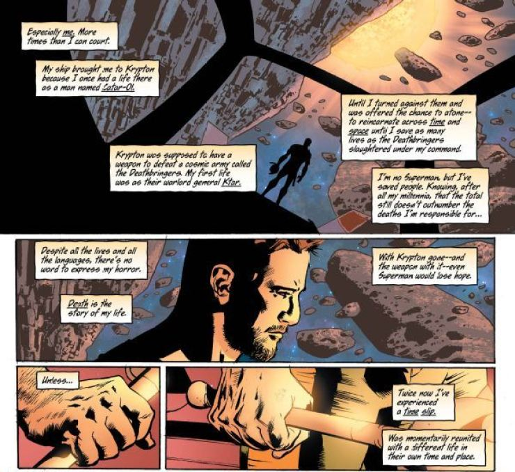 Hawkman #8 review: The Kryptonian Hawkman
