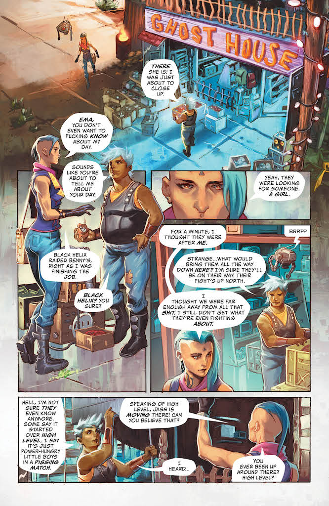 'High Level' #1 advance review: Counter culture, cool and captivating