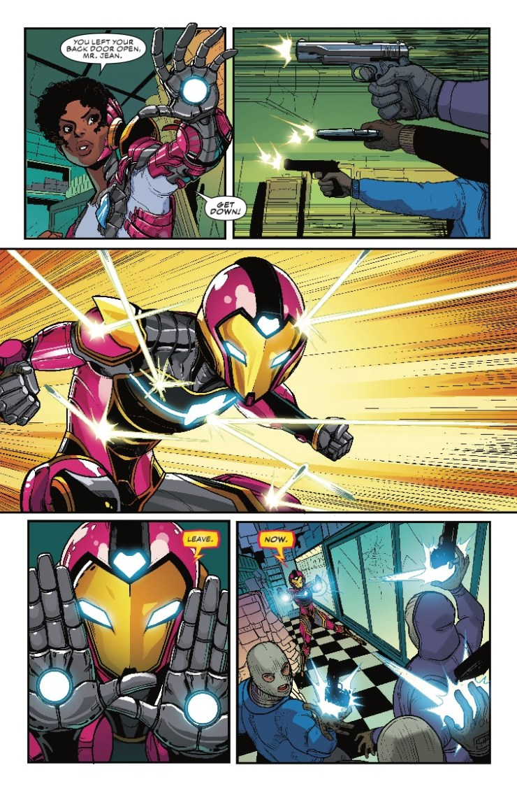 'Ironheart Vol. 1: Those With Courage' review