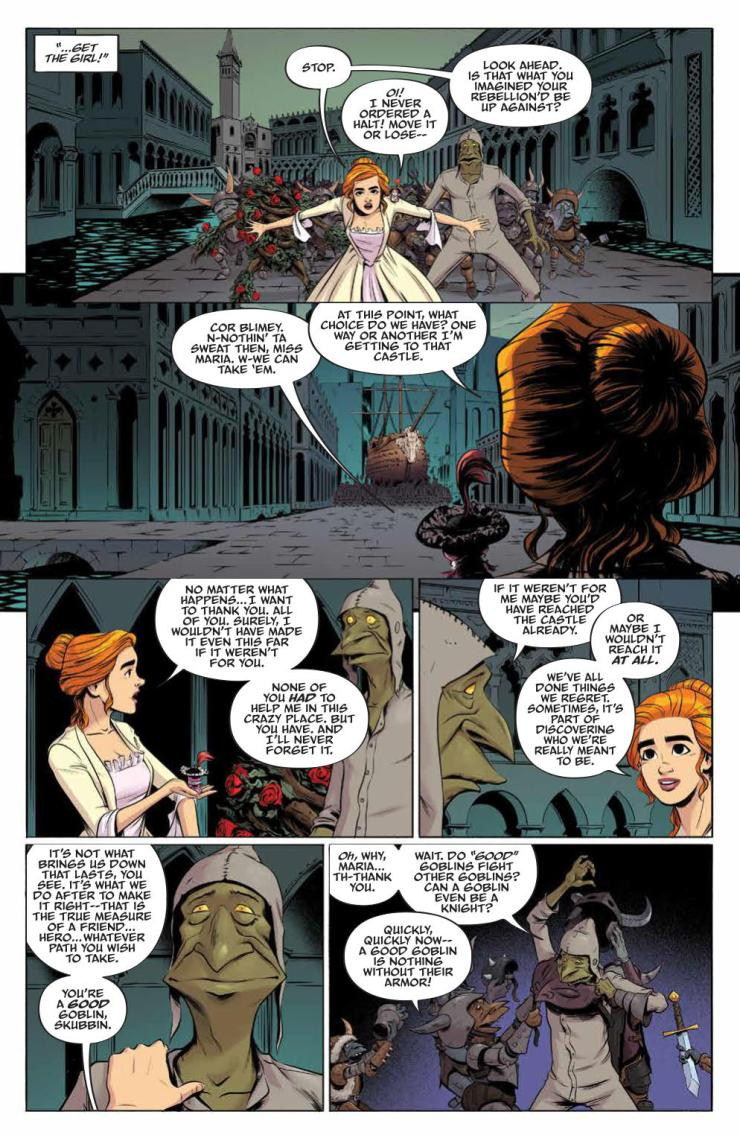 Jim Henson's Labyrinth: Coronation #10 Review