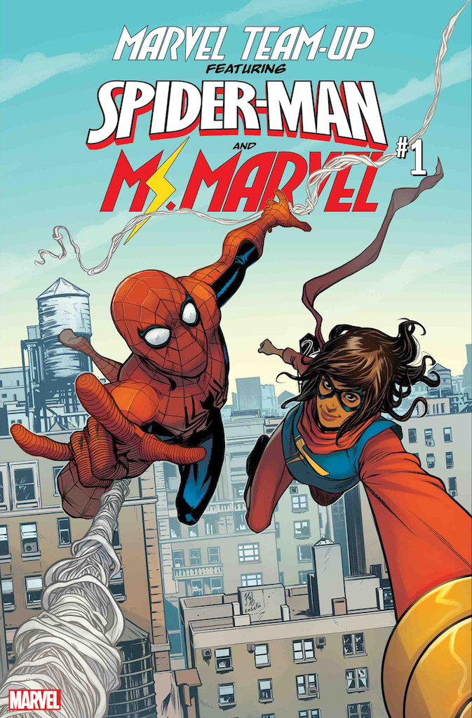 Marvel Team-Up returns with Spider-Man and Ms. Marvel this April
