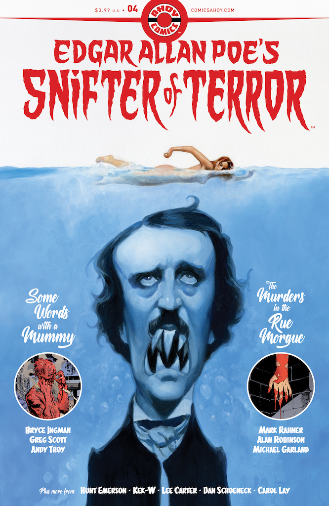 EXCLUSIVE First Look: Edgar Allan Poe's Snifter of Terror #4 extras