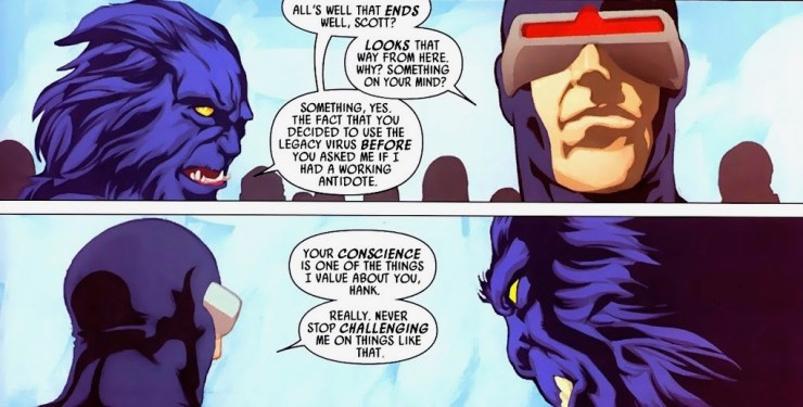 The Life & Tragedies of Scott Summers Part 4: Cyclops, The Mutant Leader