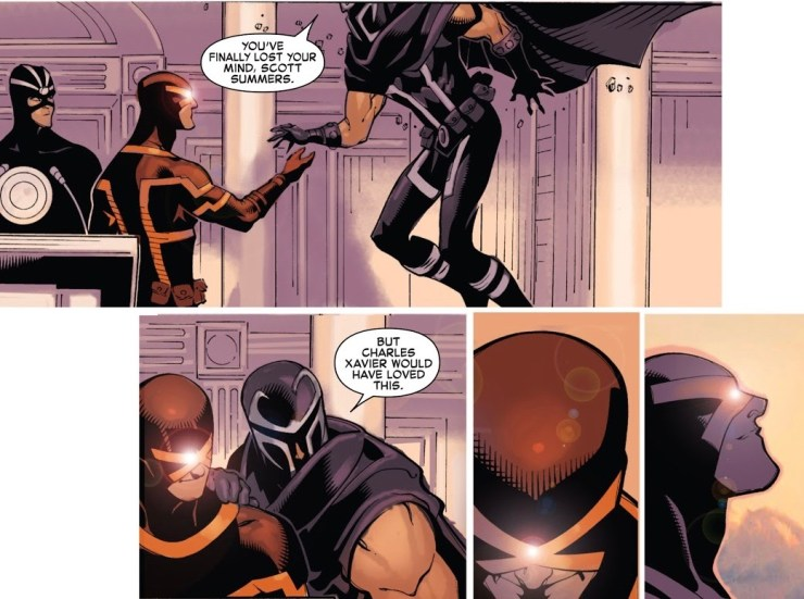 The Life & Tragedies of Scott Summers Part 5: Cyclops, The Revolutionary
