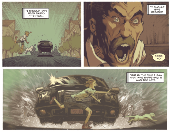 Eddie Brock's childhood trauma reveals a key Venom trait in 'Venom' #10