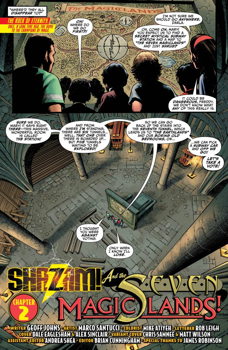 Shazam! #2 review: The journey begins
