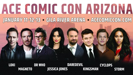 Ace Comic Con Arizona preview: Big names coming to Gila River Arena