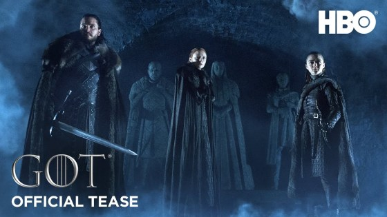 Game of Thrones: Season 8 Official Tease: The Crypts of Winterfell