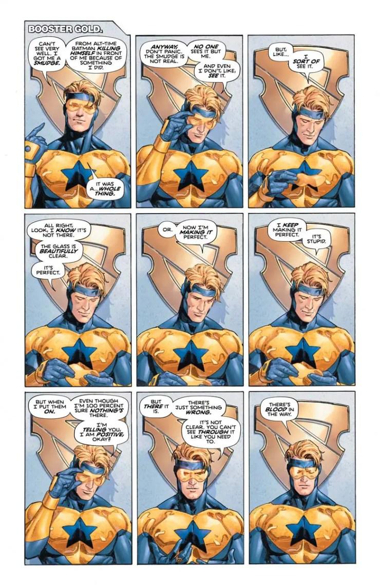 Heroes in Crisis #5 review: Superman speaks