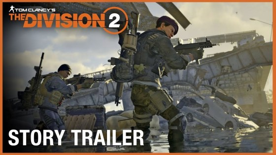 New 'The Division 2' trailer reveals story details and private beta dates