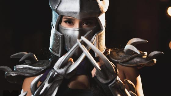 Teenage Mutant Ninja Turtles: Shredder cosplay by Milynn Sarley