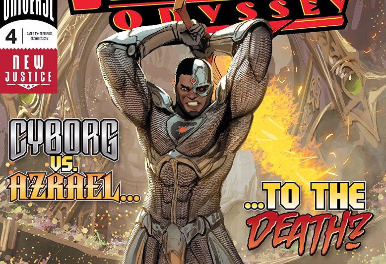 Justice League Odyssey #4 Review