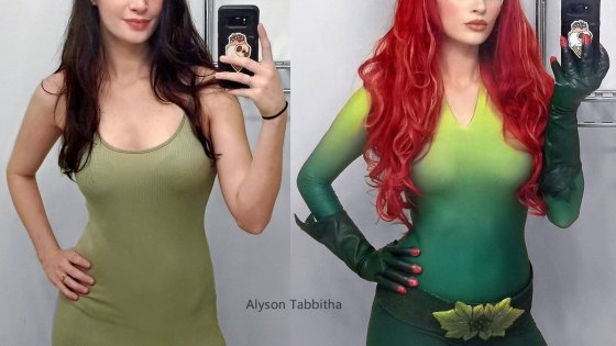 Batman Forever: Poison Ivy cosplay by Alyson Tabbitha